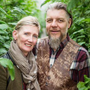 Þórður og Karólína á Akri